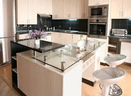 verre de cuisine plan de travail effet verre blanc great credit glastetik with