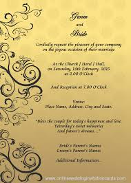 remarkable invitation cards samples for weddings 32 in invitation