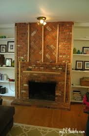 How To Cover Brick Fireplace by 28 Best Mantels U0026 Fireplaces Images On Pinterest Fireplace Ideas