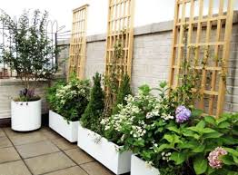 pergola rectangular planters wonderful planter with trellis