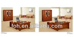 economic medium size wooden bureau manager desk furniture