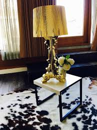 Kartell Bourgie Table Lamp Kartell Bourgie Table Lamp Gold In Islington London Gumtree