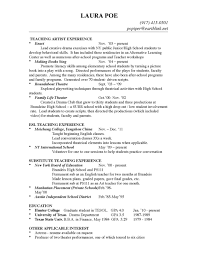 Special Education Paraprofessional Resume Education On A Resume Examples Educationresumeexamplepng College