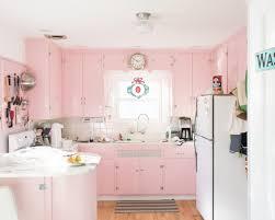 pink kitchen ideas pastel pink kitchen ideas cabinets and island white top freezer