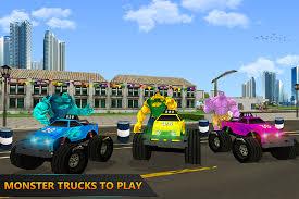 monster hero super truck battle android apps google play