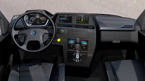 kenworth truck interior nikola one how about a 6x6 electric 2 000 hp semi truck for