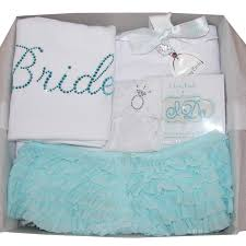 something blue wedding something blue bridal gift box by bridal shower gift