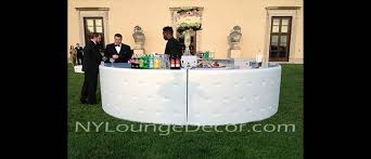 bar rental ny lounge decor tufted leather bars