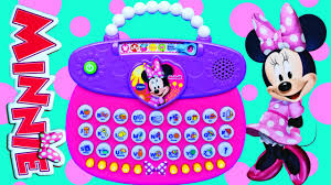 minnie mouse abc purse learn colors numbers letters counting