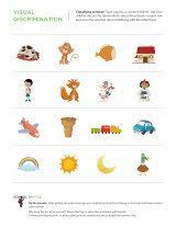 matching animals to their shadows 2 worksheets visual