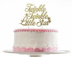 twinkle twinkle cake topper twinkle etsy
