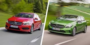 mercedes a class performance mercedes a class facelift vs carwow