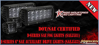 rigid industries led driving lights rigid industries dot sae compliant street legal led lights with the