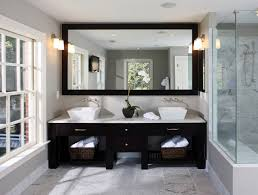 White And Gray Bathroom by Black And White Bathroom Wallpaper Bathroom Decor Black And Black