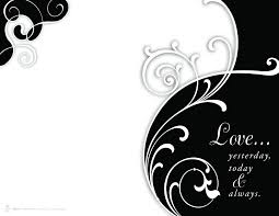 Wedding Program Covers 4 Best Images Of Wedding Program Cover Page Black And White