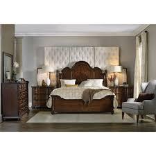 king poster bedroom set hooker furniture leesburg king poster bed in dark wood