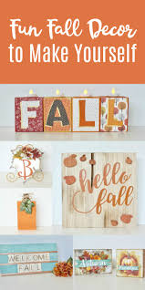 fun fall decor to make yourself yesterday on tuesday