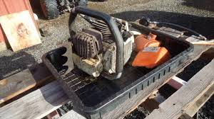 how to maintain chain and chain brake on chainsaw air filter