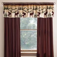 clearance northwoods bear valance cabin place