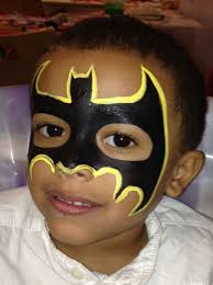 holiday party batman face paint www childrenspartiesnyc com jpg