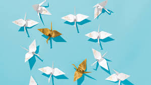 how to make an origami crane for your wedding martha stewart