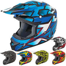 fly motocross helmet fxr racing snowmobile gear blade super lite helmet rrs
