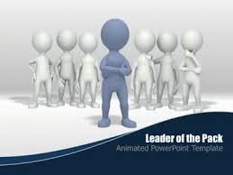 leader of the pack a powerpoint template from presentermedia com