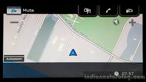 Navigation Map Maruti Vitara Brezza Navigation Map First Drive Review Indian