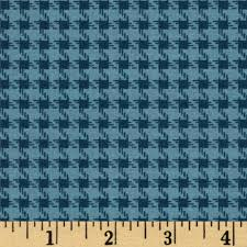 houndstooth home decor riley blake round up houndstooth blue quilting cotton and colors