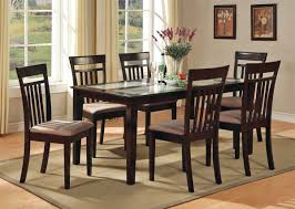 Black Dining Room Sets For Cheap by Emejing Brown Dining Room Set Images Rugoingmyway Us
