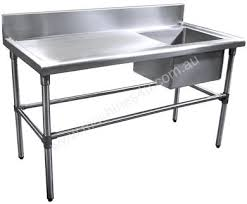 Stainless Steel Sinks Sink Benches Commercial Kitchen Second Hand Commercial Stainless Steel Sinks Befon For