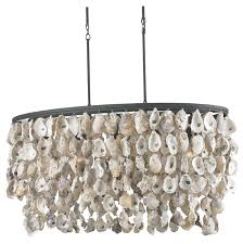 diy shell chandelier oyster shell chandelier diy home design ideas