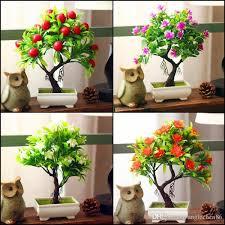 2018 wholesale artificial plants bonsai for home decoration