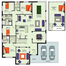 A 4 Bedroom House 149 Best House Plans Images On Pinterest House Floor Plans