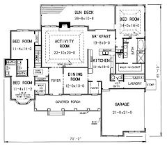 partee house floor plan would make the dining room a study make