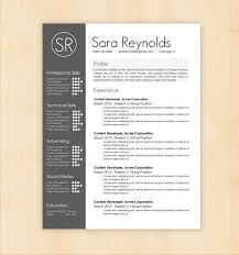 resume template word doc 50 free microsoft word resume templates