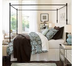 Pottery Barn Iron Bed Pottery Barn Antonia Canopy Bed King 1 350 Tax U0026 Delivery