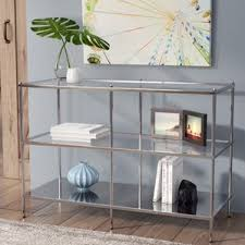 Mirrored Console Table Mirrored Console U0026 Sofa Tables You U0027ll Love Wayfair