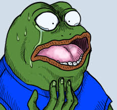 Shock Meme - shock and disappointment feels bad man sad frog know your meme