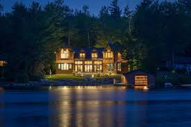 Lakefront Home Designs Green Home Design Architect Contemporary Lakeside Timber Frame Home
