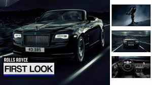 rolls royce badge 2017 rolls royce dawn black badge youtube