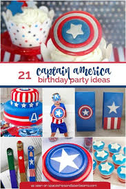 the party ideas 21 captain america party ideas spaceships and laser beams