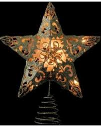 lighted capiz star tree topper spring shopping special 11 lighted gold swirl christmas star tree