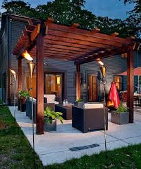 landscaping and outdoor building beautiful japanese pergola