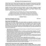 system administrator resume template 10 best best system