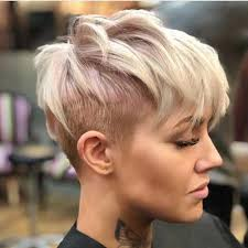 very short pixie hairstyle with saved sides photo gallery of pixie haircuts with shaved sides viewing 19 of 20