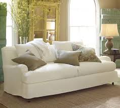 Small Sofa Slipcover by Classic White English Arm Sofa Dressed Down With A Tailored Slip