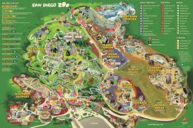 chicago zoo map san diego zoo map