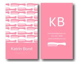 Business Cards Hair Stylist Salon Business Card Etsy