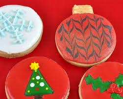 ideas for decorating round christmas cookies food fox recipes